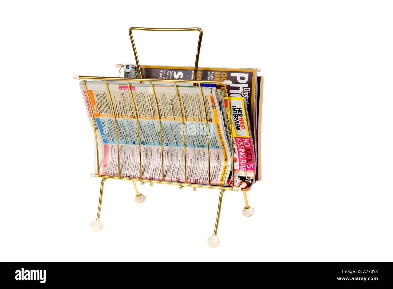 Magazine Rack Stock Photos & Magazine Rack Stock Images - Alamy
