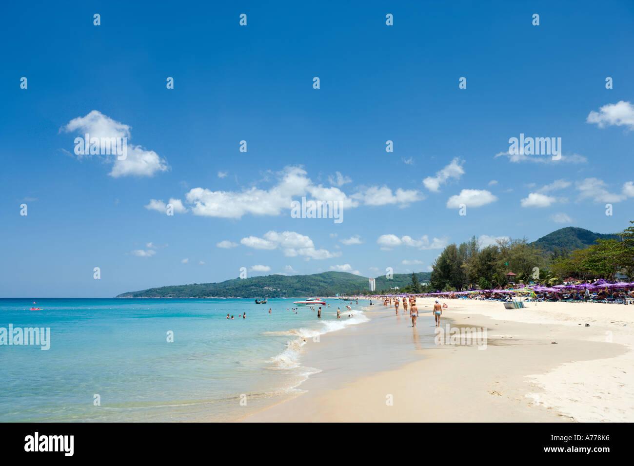 Karon Beach, Phuket, Thailand - Stock Image