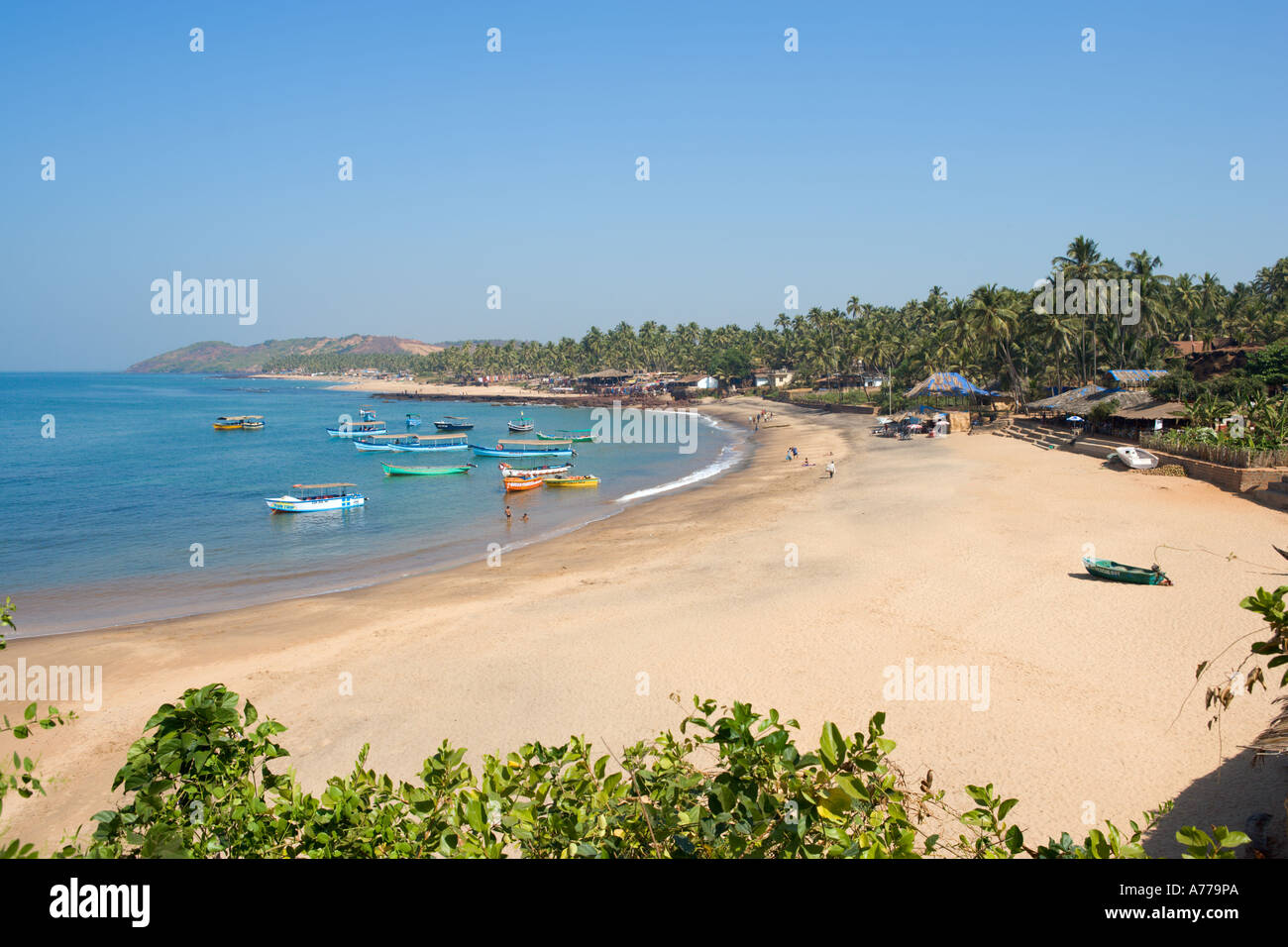Anjuna Beach High Resolution Stock Photography And Images Alamy