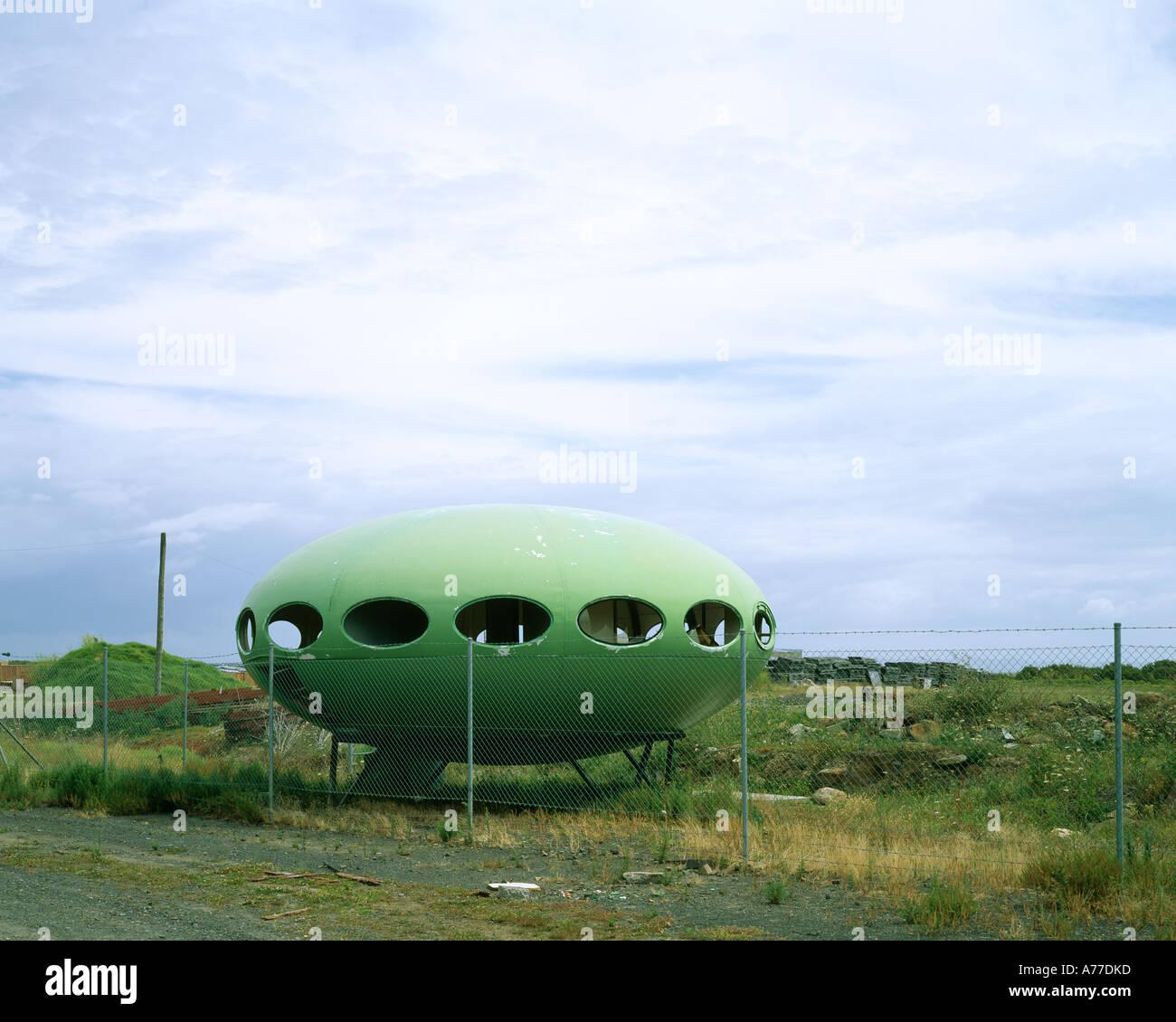 Futuro House, 1968. Architect: Matti Suuronen - Stock Image
