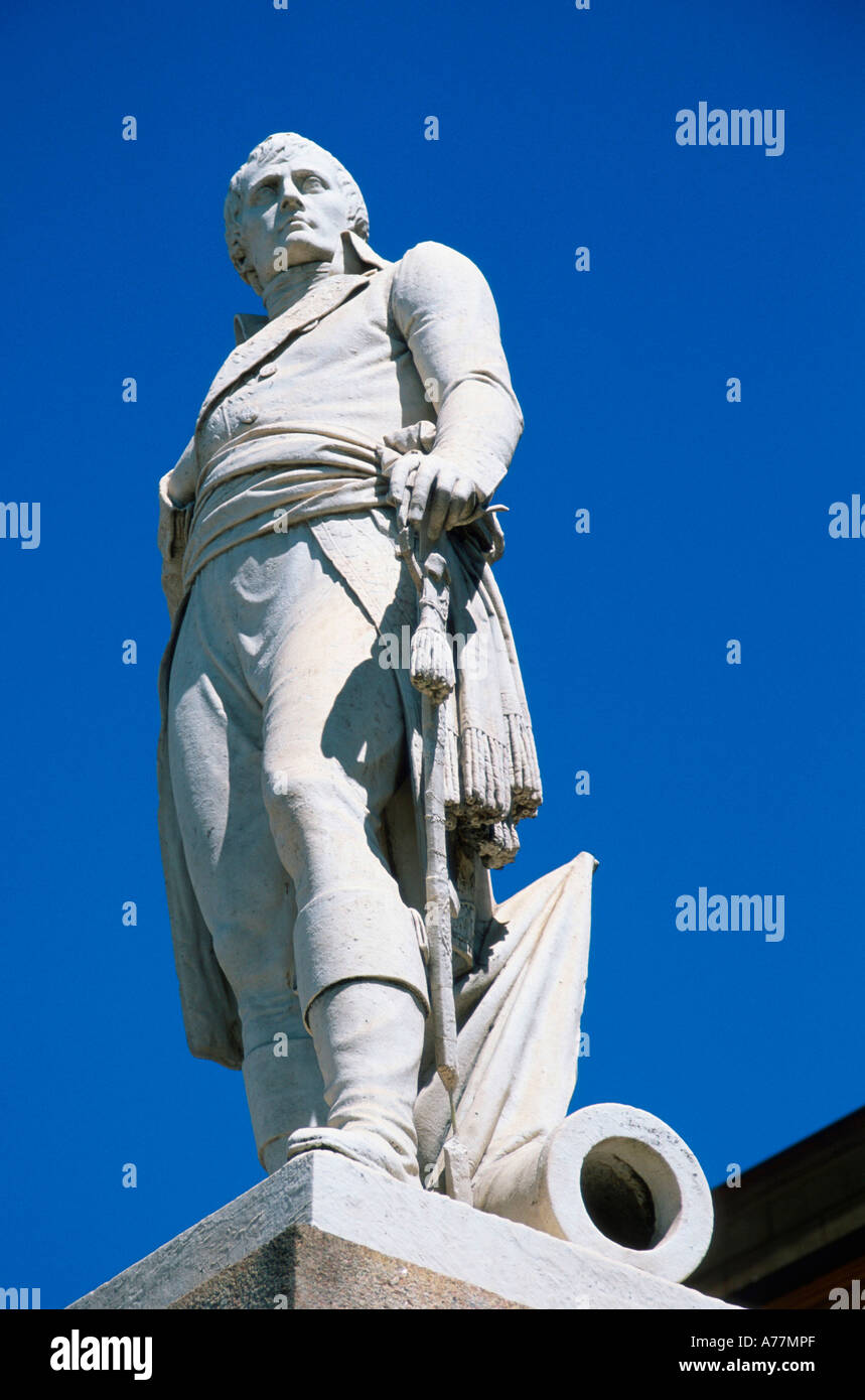 Statue of Napoleon Spinetta Marengo - Stock Image