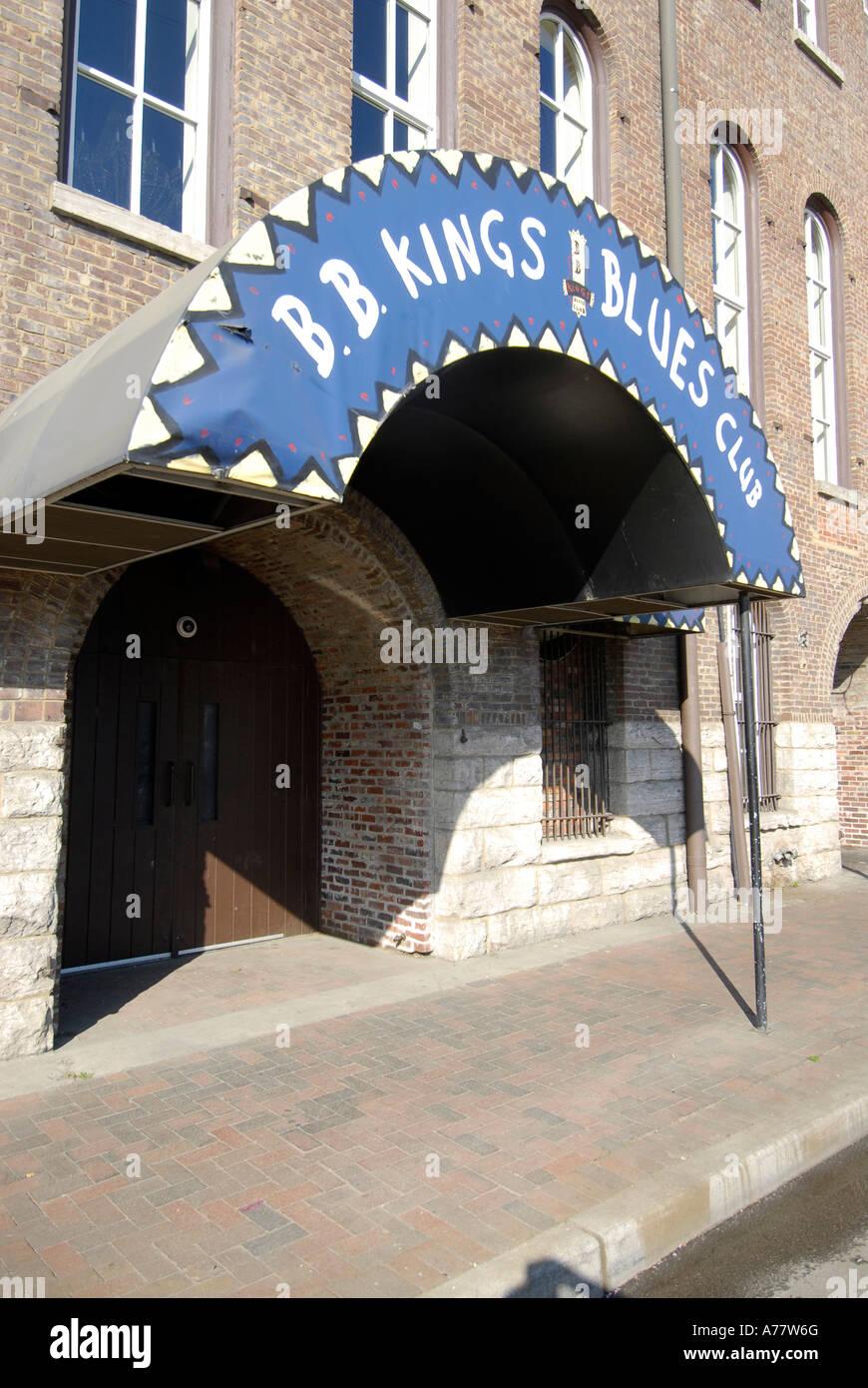 B B Kings Blues Club Nashville Tennessee TN Tenn US USA United States of America American Music City Stock Photo