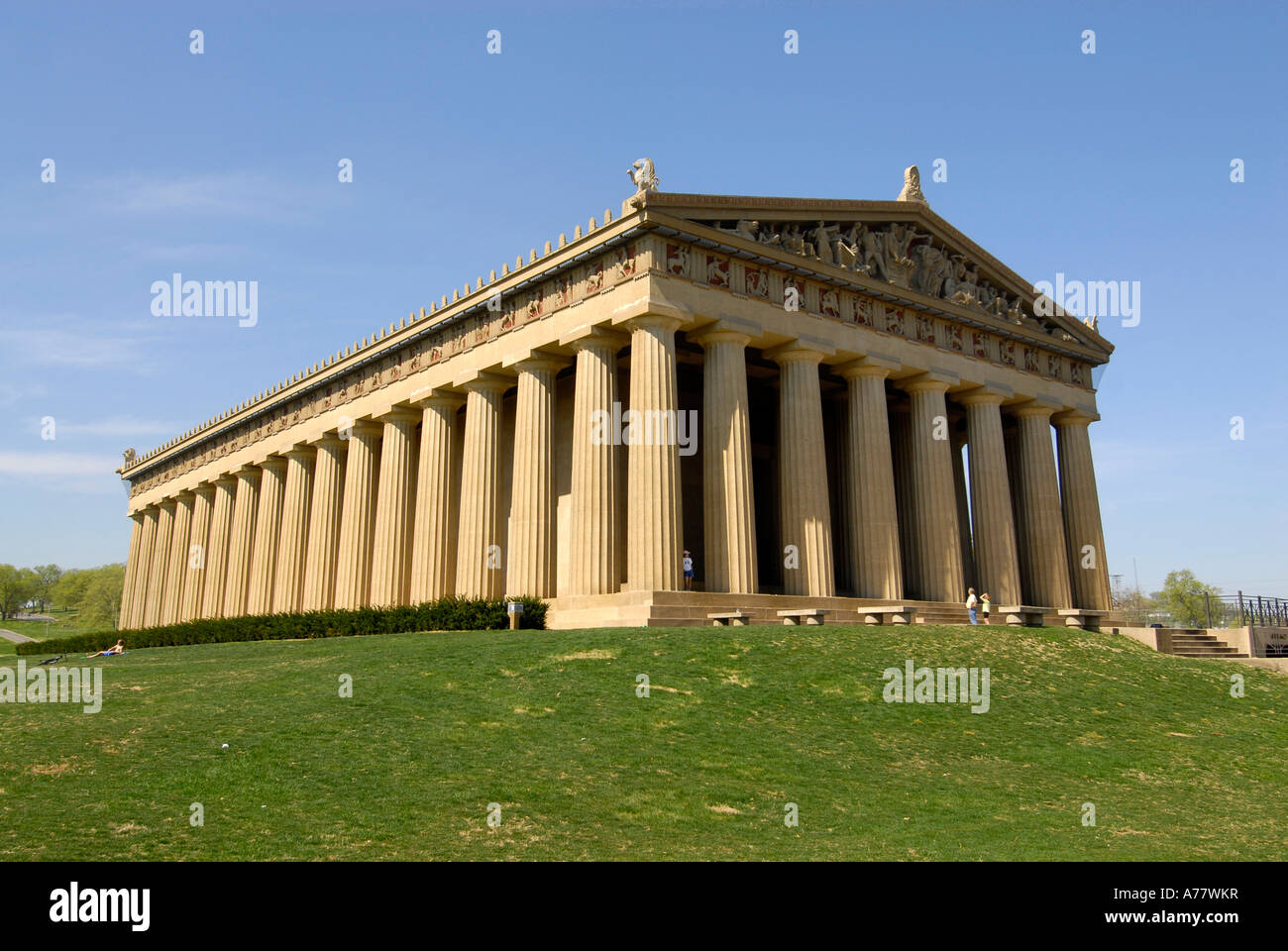 the parthenon in centennial park nashville tennessee tn tenn us usa stock photo 11752954 alamy. Black Bedroom Furniture Sets. Home Design Ideas