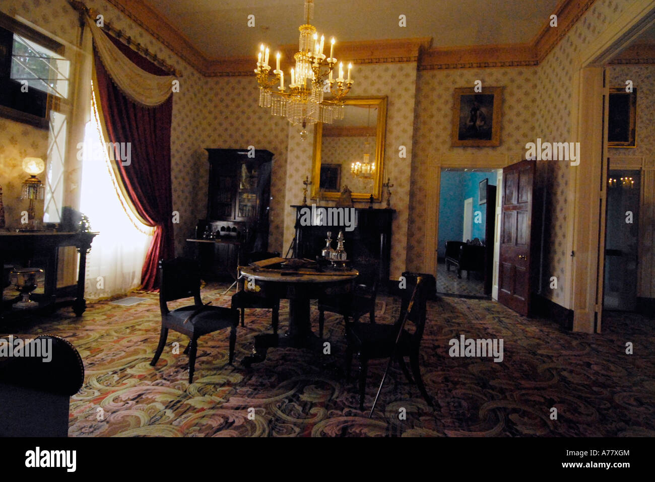 Grounds of Hermitage Home and Museum of Andrew Jackson near Nashville Stock Photo - Alamy