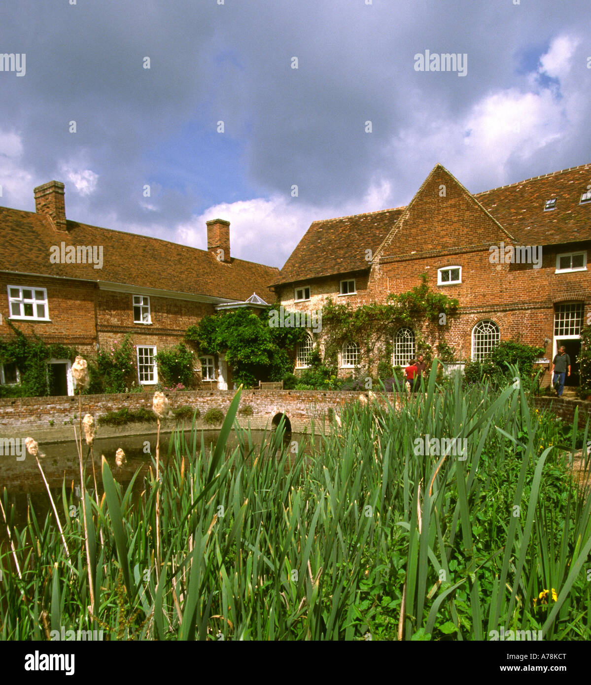 UK Essex Constable Country Flatford Mill field study centre Stock Photo
