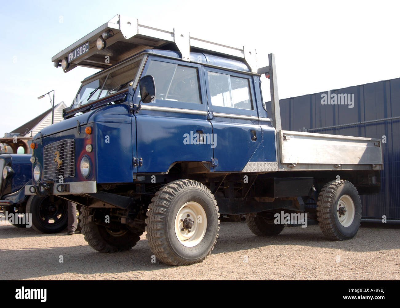 Land Rover 101 Forward Control GS series 2 based Stock Photo ...