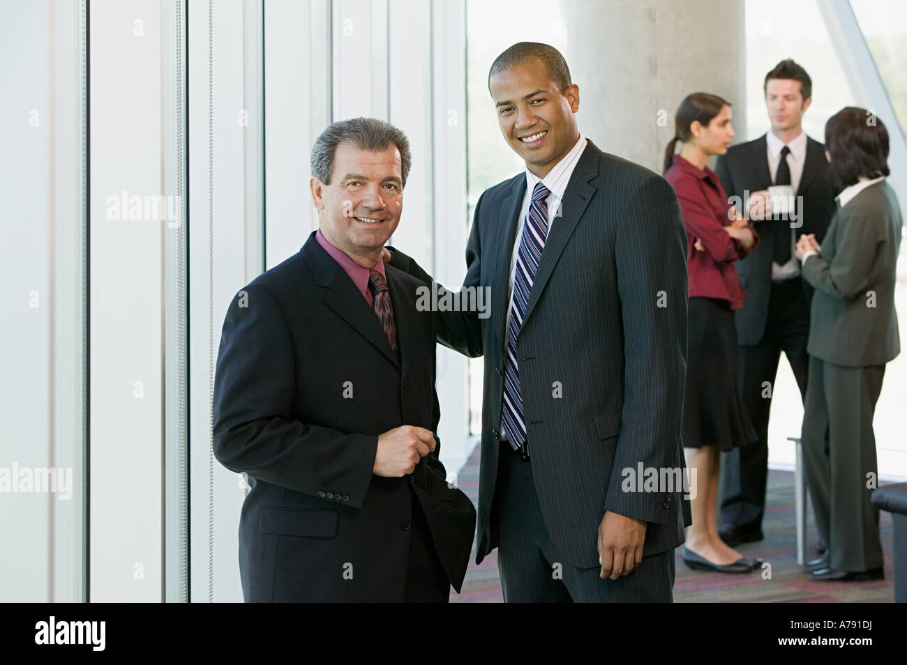Two businessmen - Stock Image