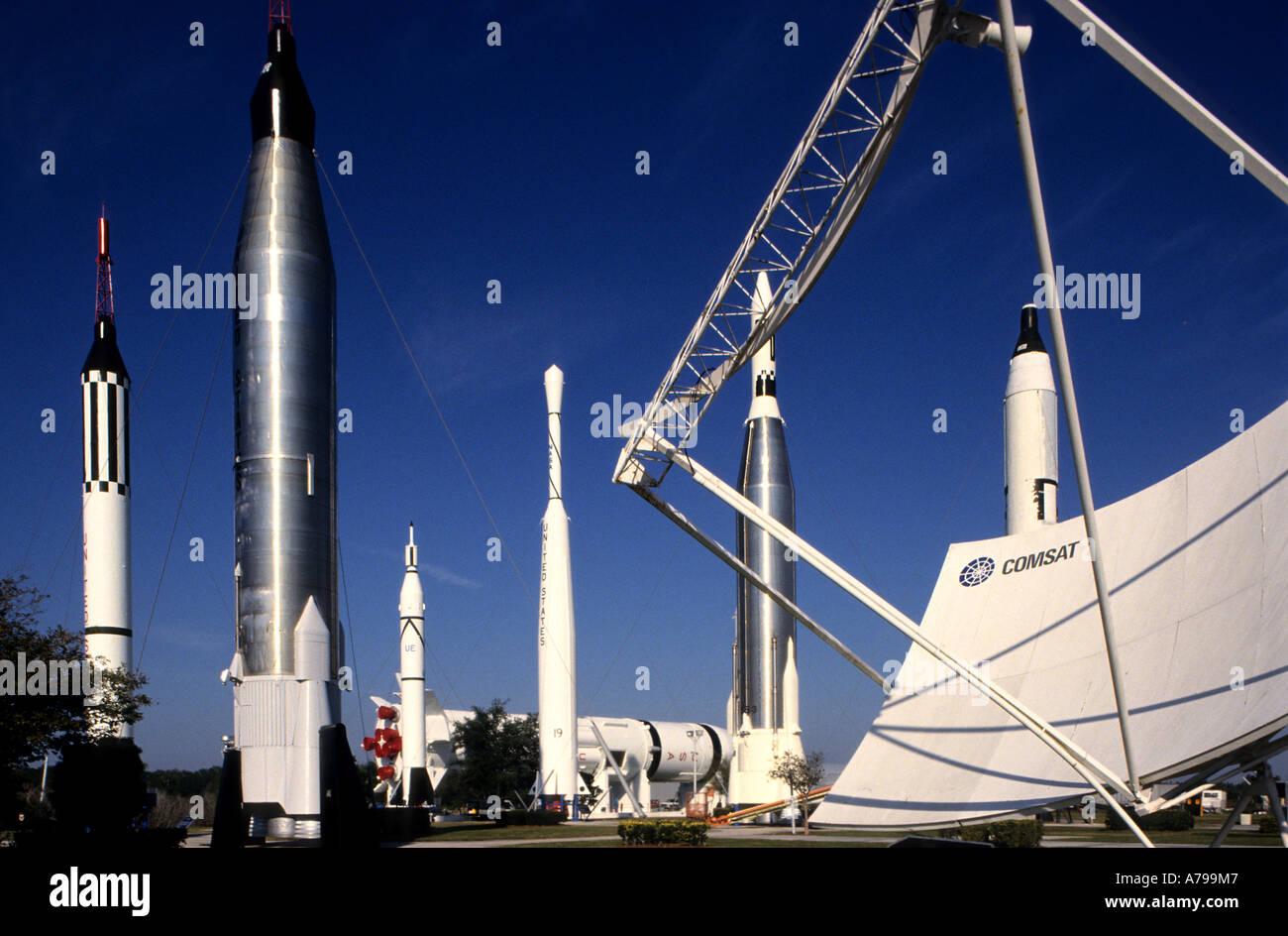 United States of America Florida NASA  JFK The John F. Kennedy Space Center - Stock Image