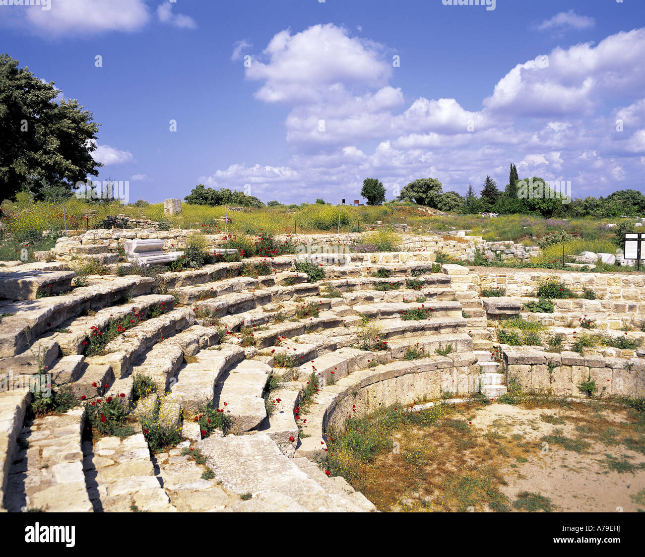 Theater at Troy Turkey - Stock Image