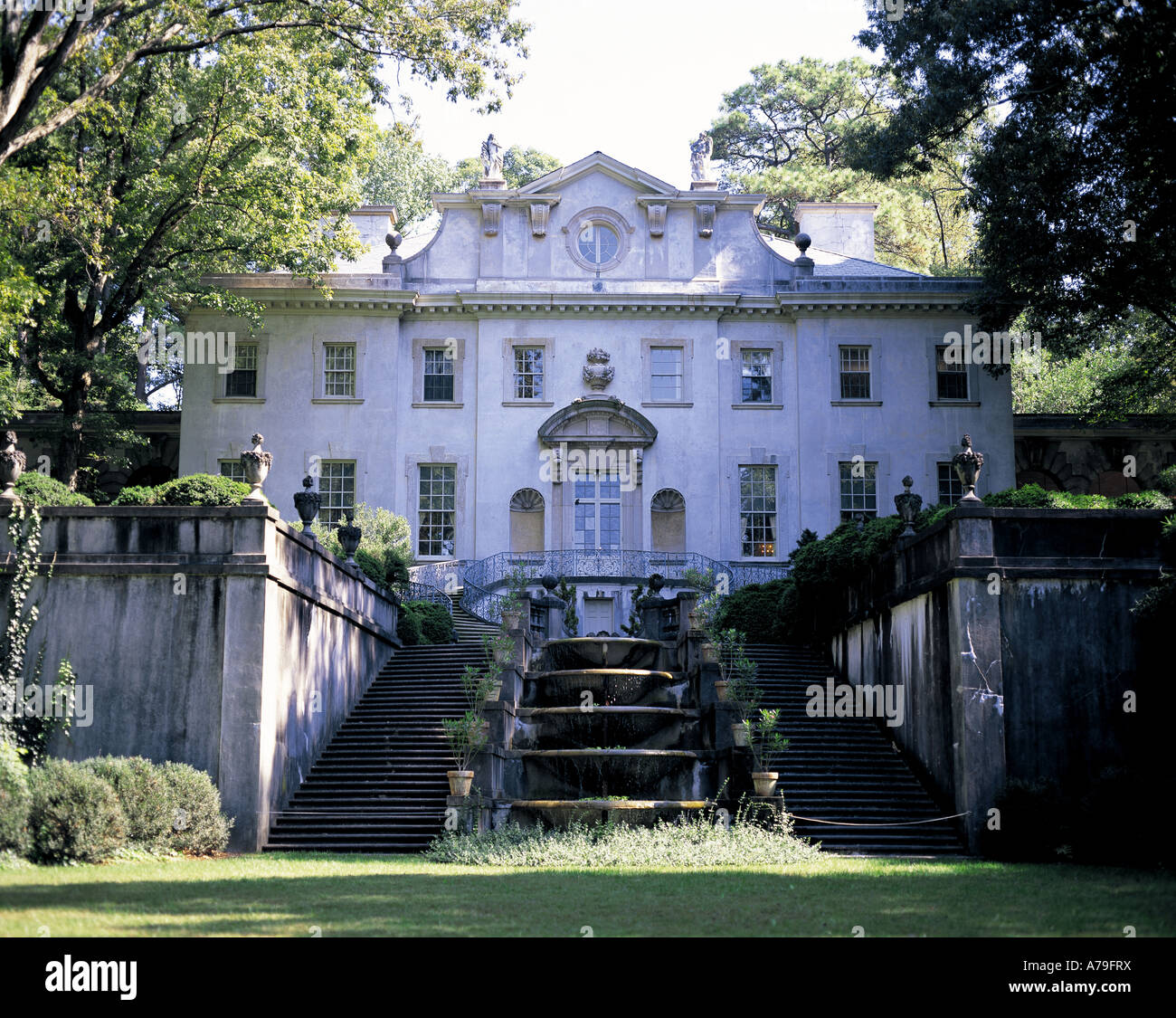 Swan House Atlanta Georgia USA   Stock Image