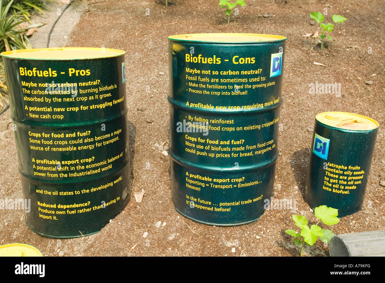 Biofuels Pros And Cons >> Biofuel Pros And Cons Display At The Eden Project Cornwall