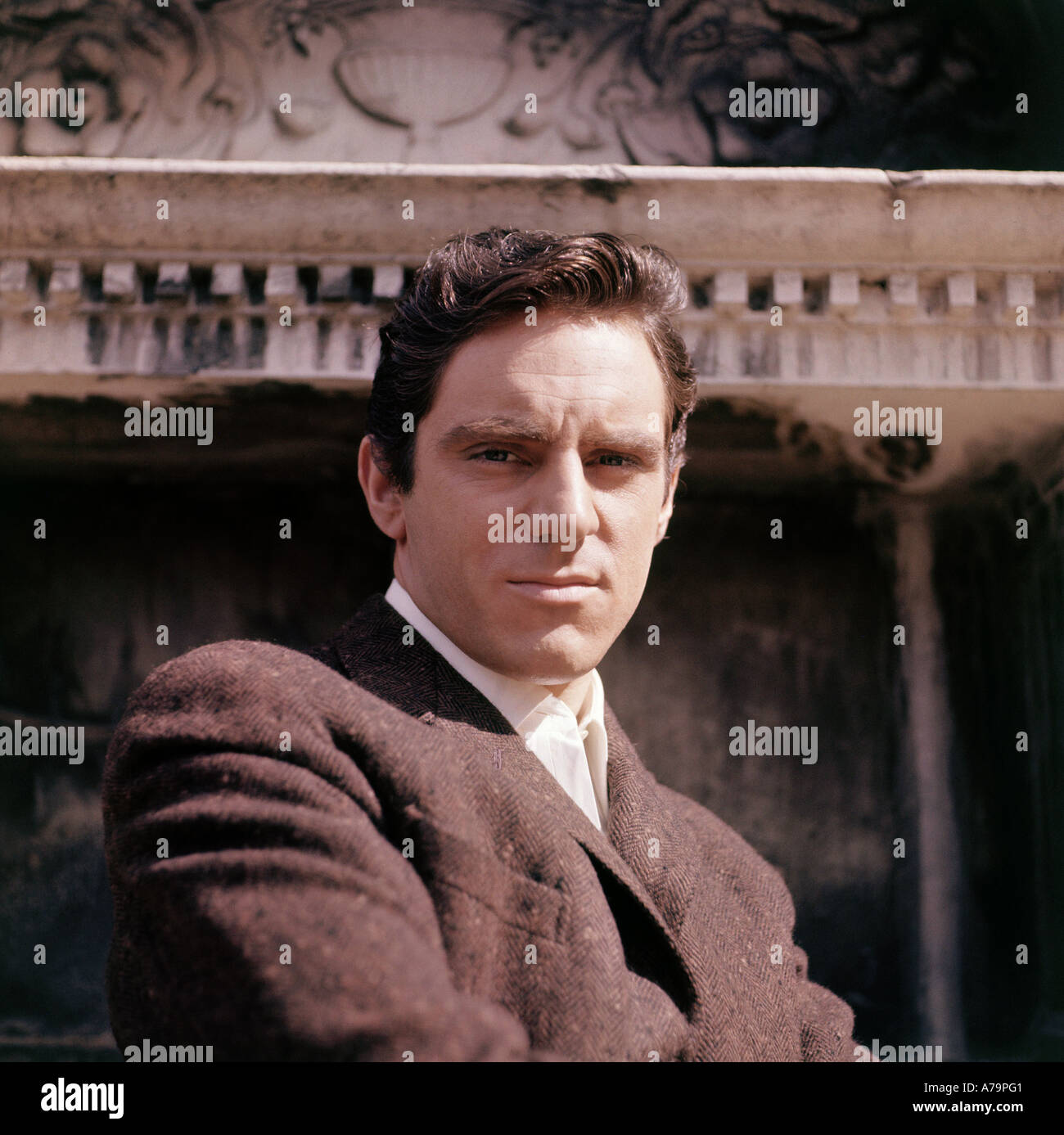 ANTHONY NEWLEY British actor and singer - Stock Image