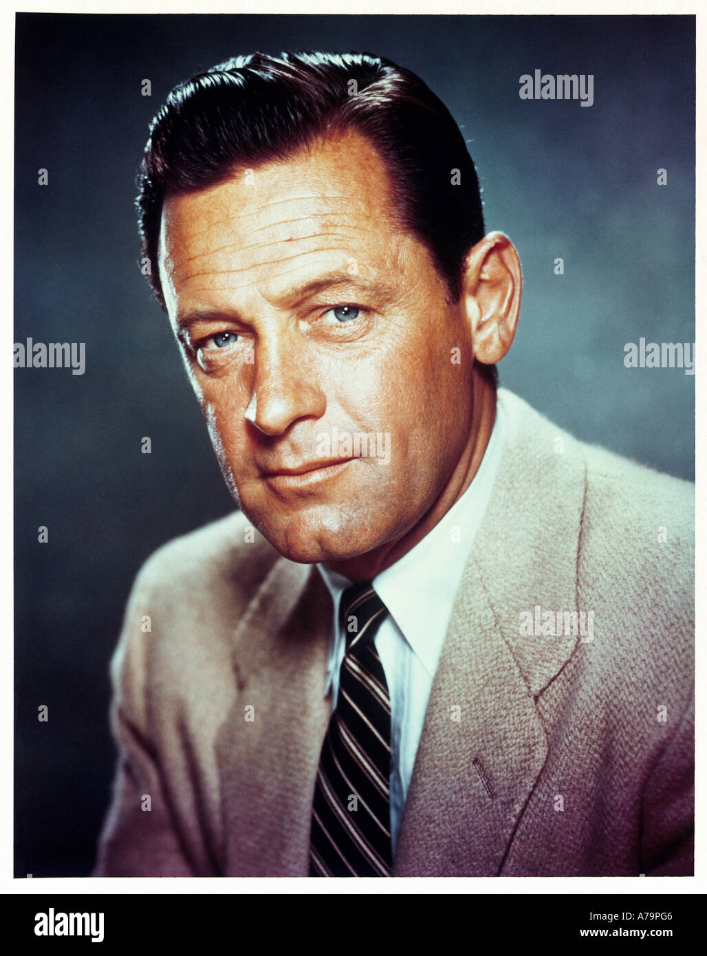WILLIAM HOLDEN US actor - Stock Image