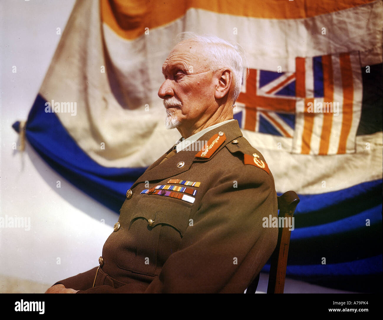 JAN CHRISTIAN SMUTS 1870 to 1950 South African statesman and Field Marshall here about 1943 - Stock Image