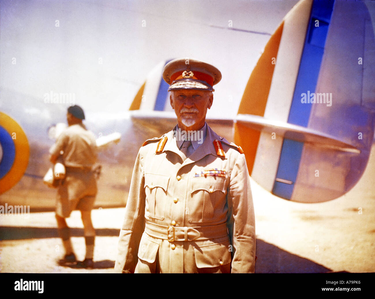 JAN CHRISTIAN SMUTS South African statesman and Field Marshall about 1942 - Stock Image