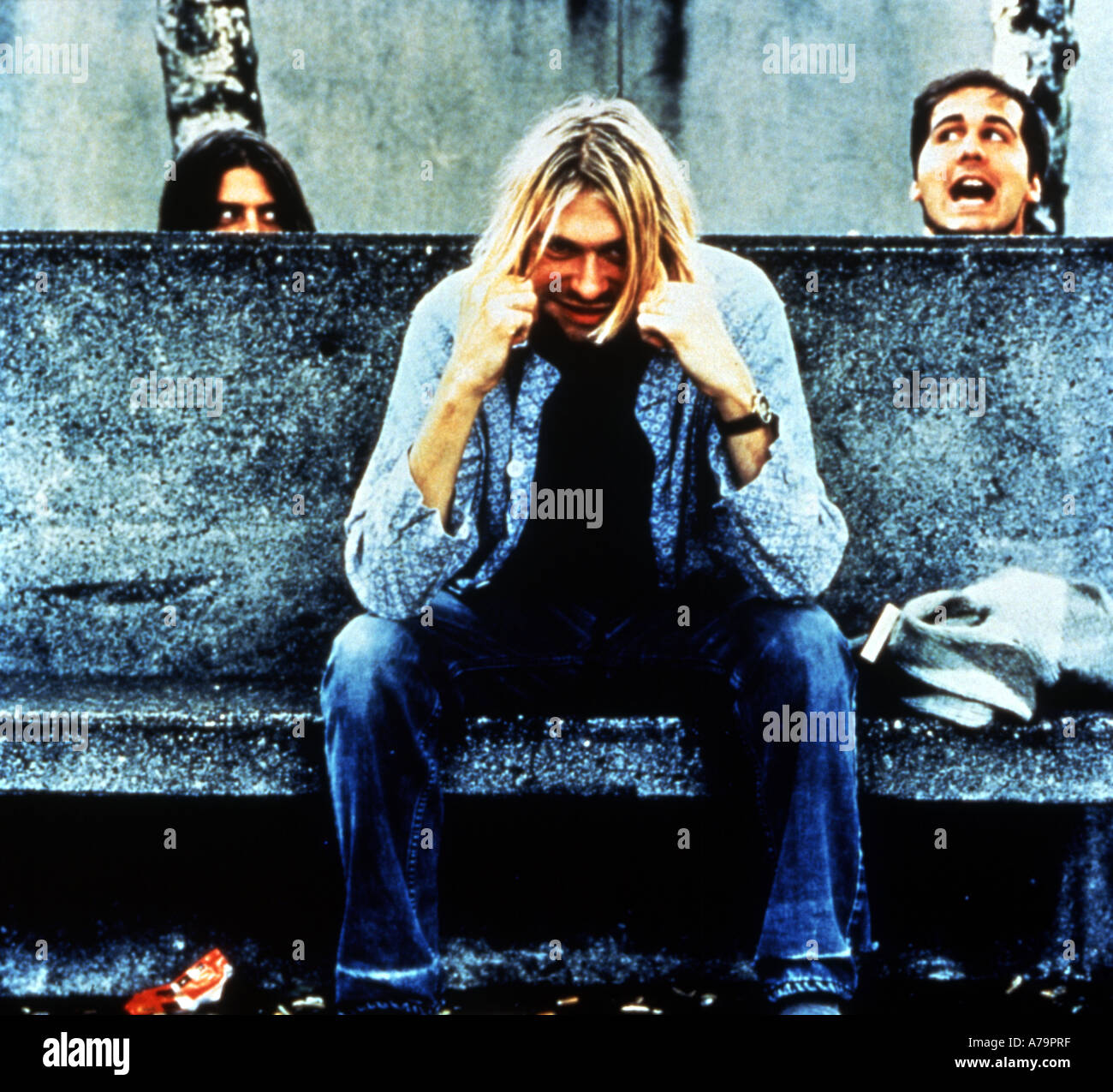 NIRVANA publicity photo of UK group - editorial only - Stock Image