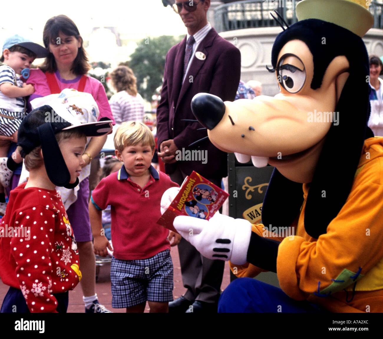Disneyland  Walt Disney Goofy California kid kids - Stock Image