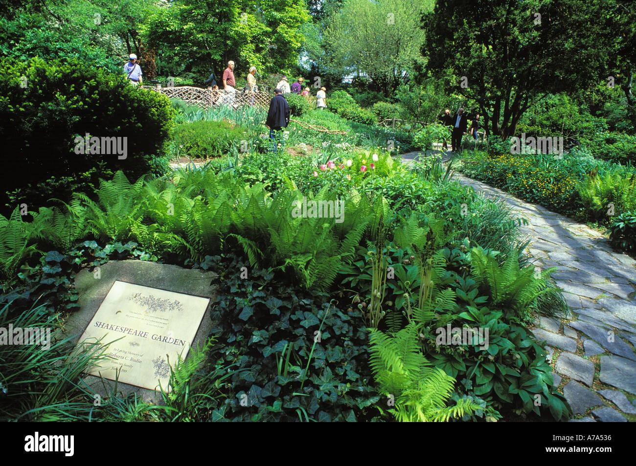 shakespeare garden central park manhattan new york - Shakespeare Garden Central Park