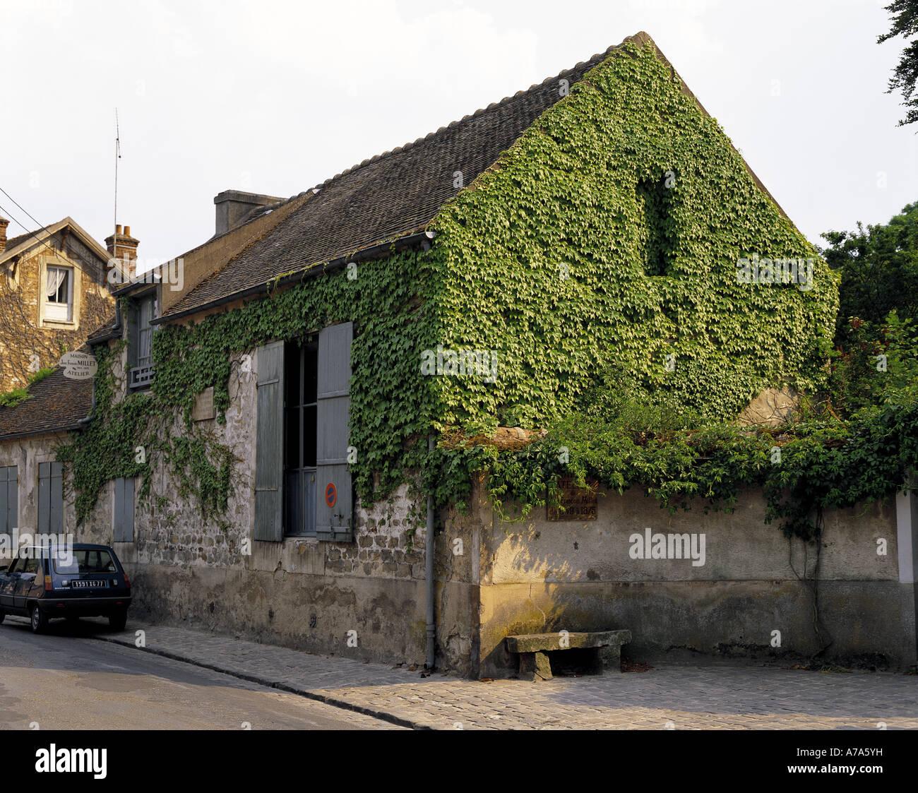 Millet atelier at Barbizon France - Stock Image