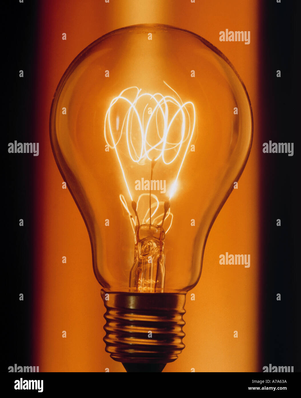 Electric Bulb - Stock Image