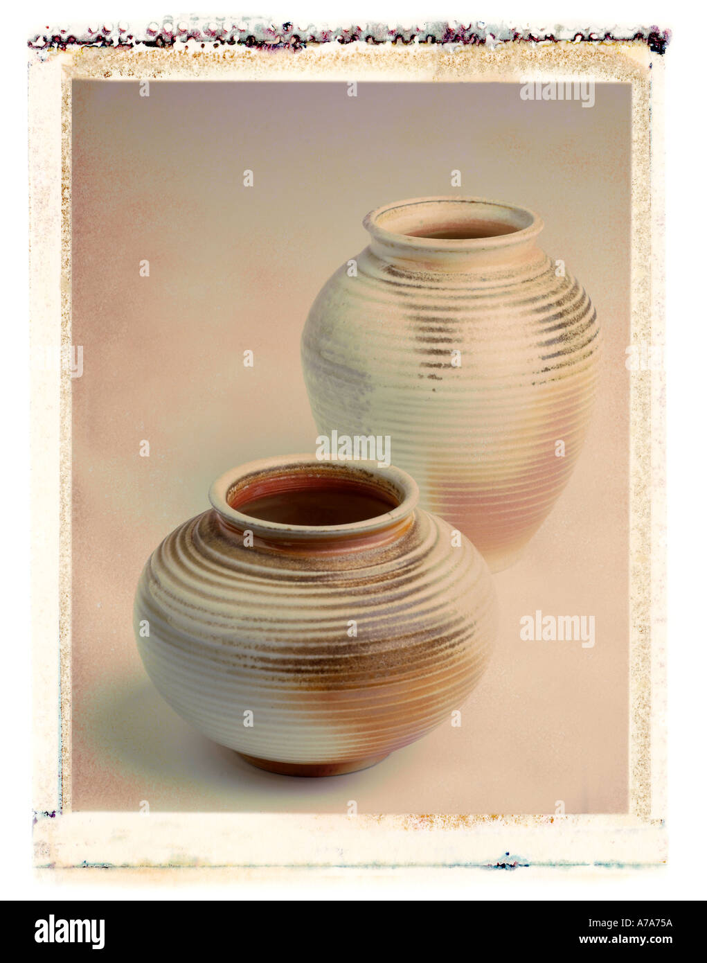 pottery - Stock Image