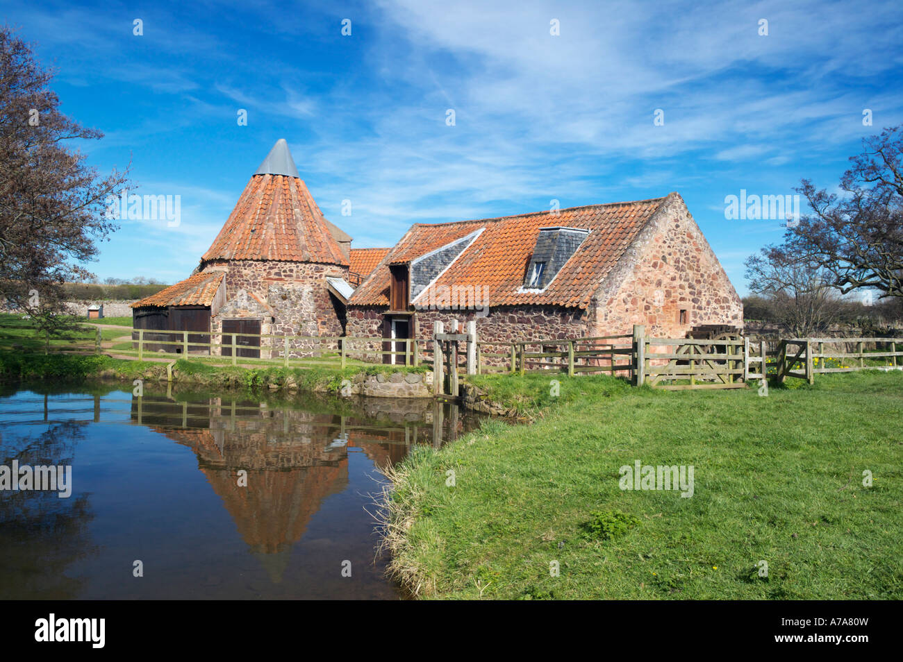 Preston Mill, East Linton, East Lothian, Scotland, UK Stock Photo ...