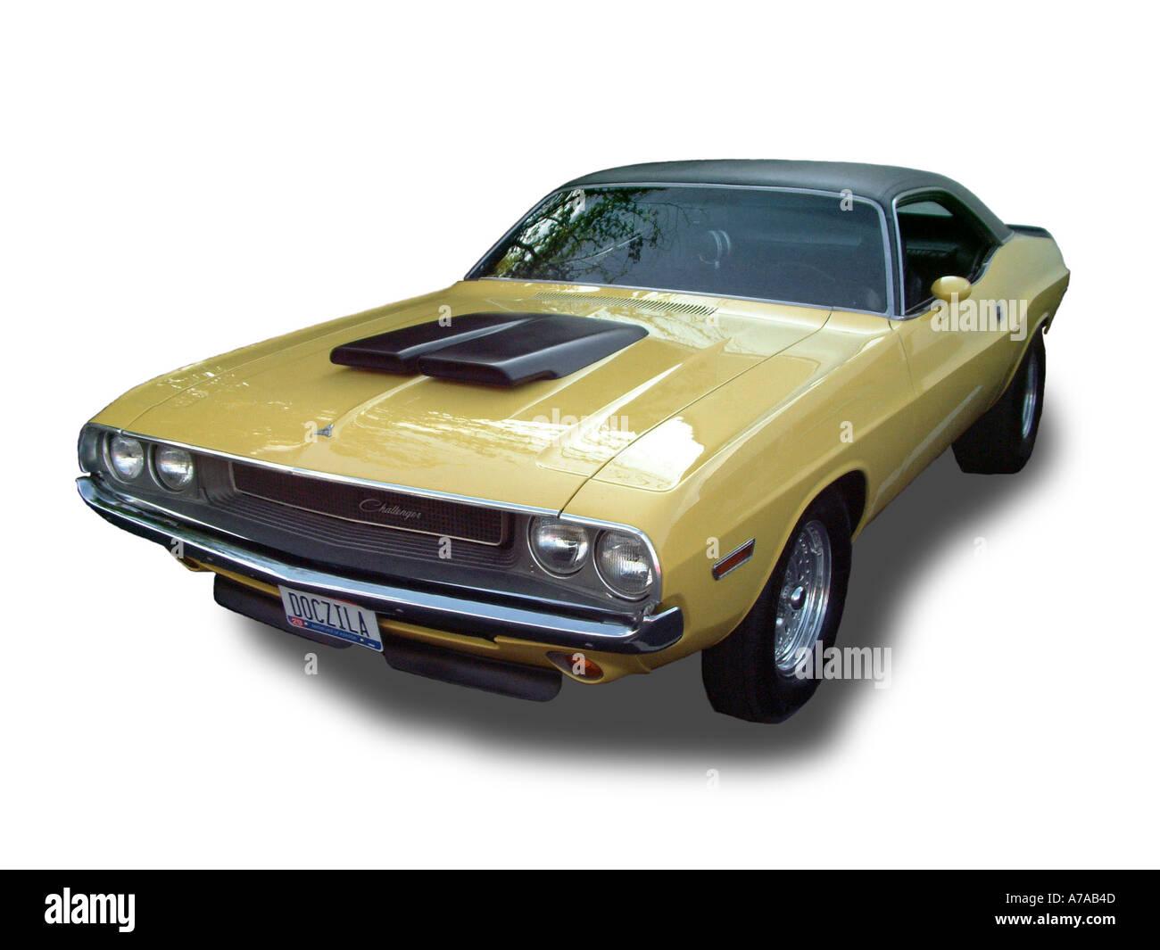 1970 Dodge Challenger DOCZILA - Stock Image