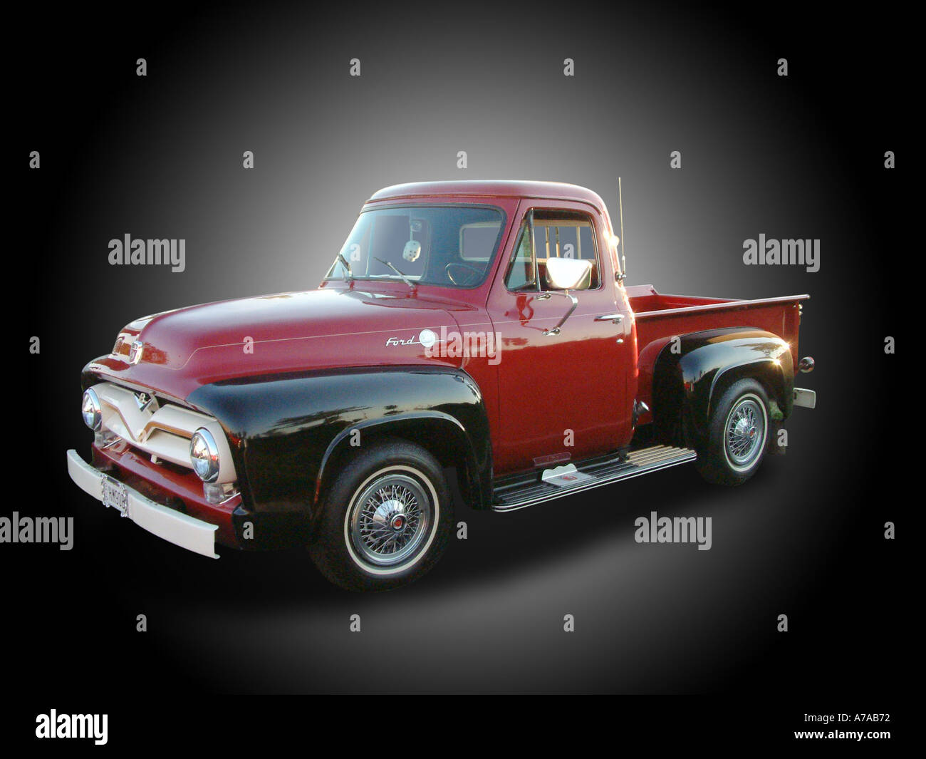1955 Ford Truck Stock Photos Images Alamy F100 Rear Bumper Pickup Hm90b Image