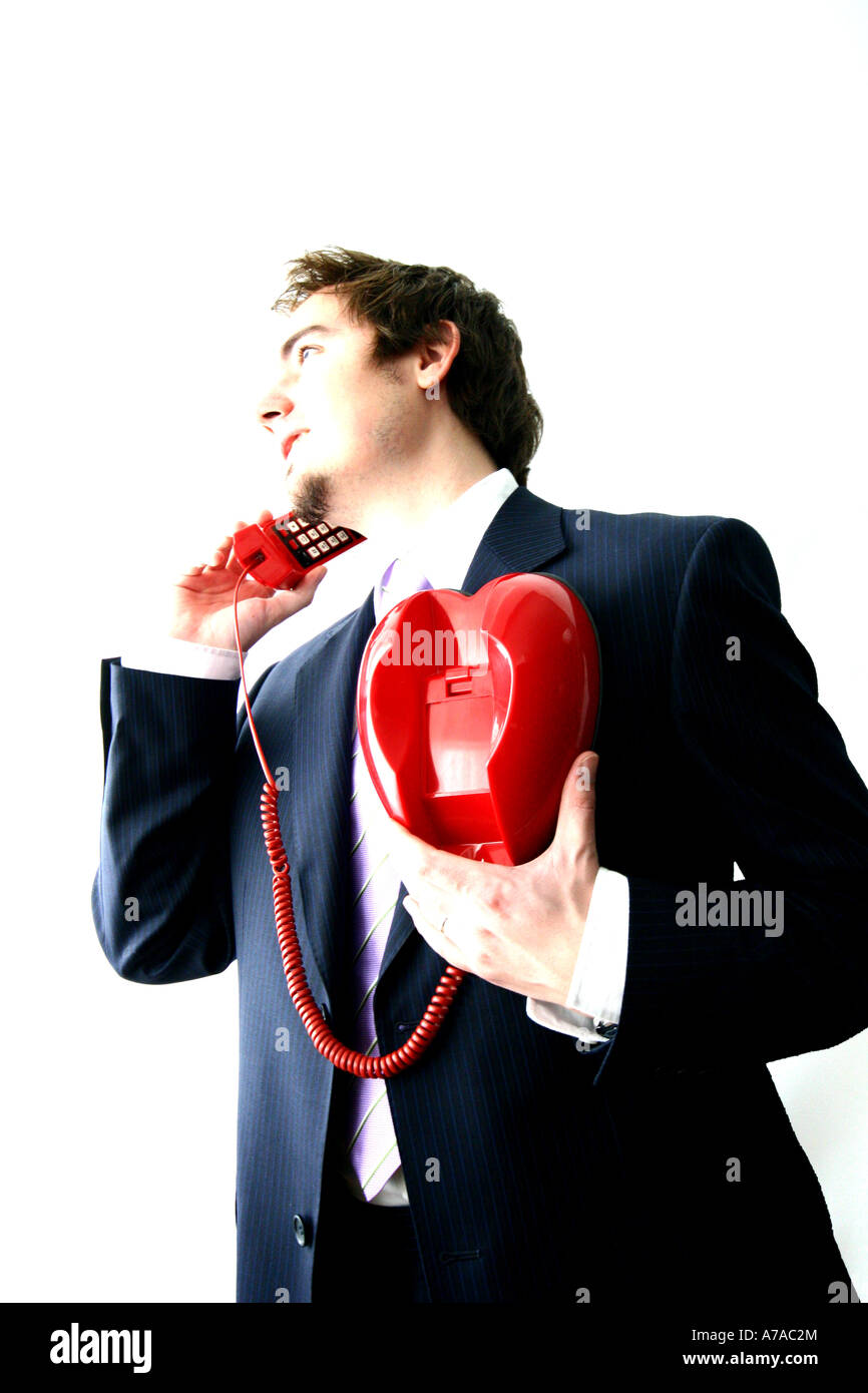 he wears his heart on his sleeve