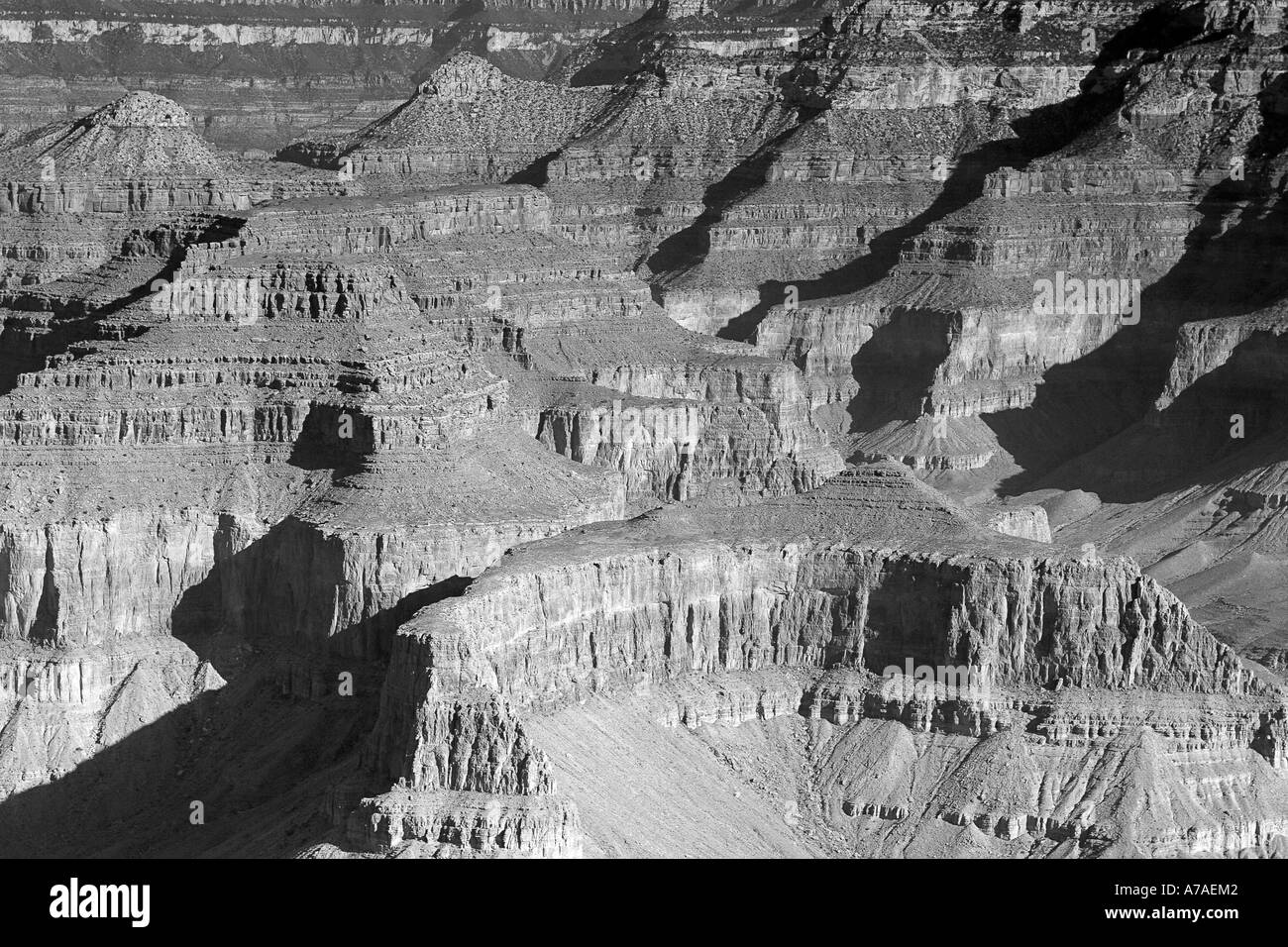 Grand Canyon At Maricopa Point - Stock Image