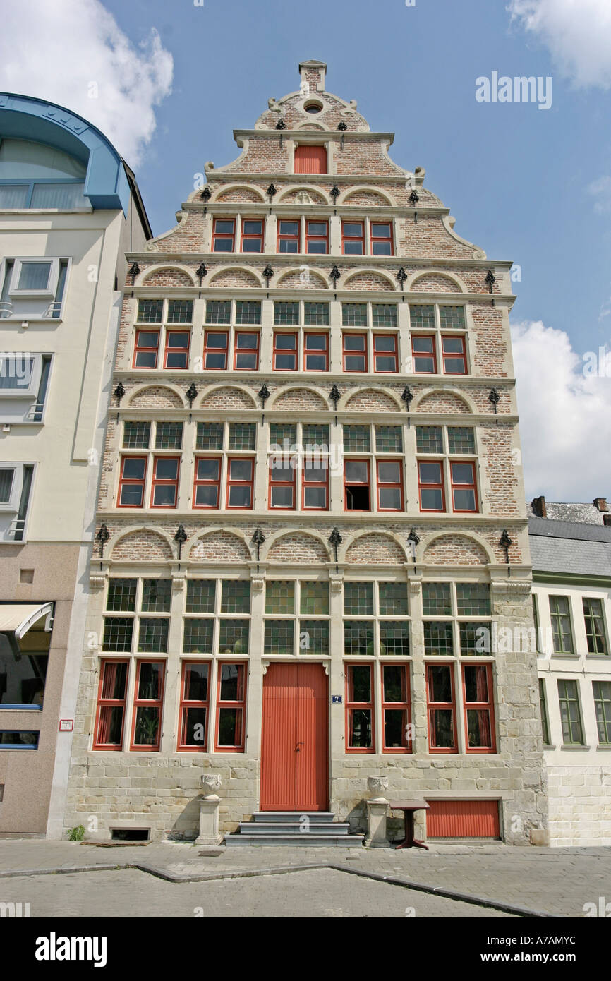 OLD BUILDING GHENT GENT - Stock Image