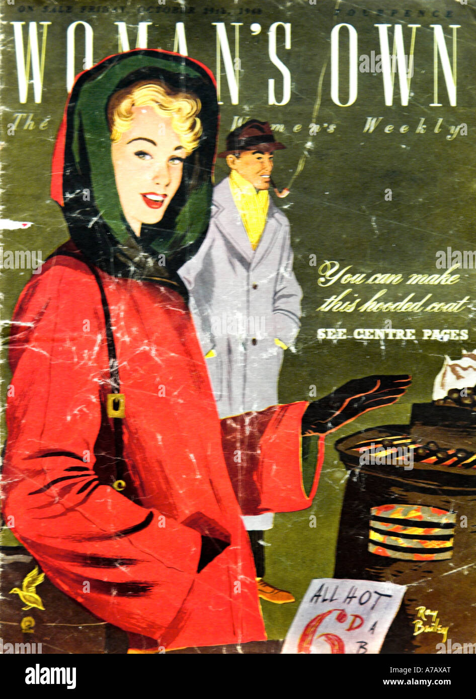 Woman's Own Magazine October 1960 EDITORIAL USE ONLY - Stock Image