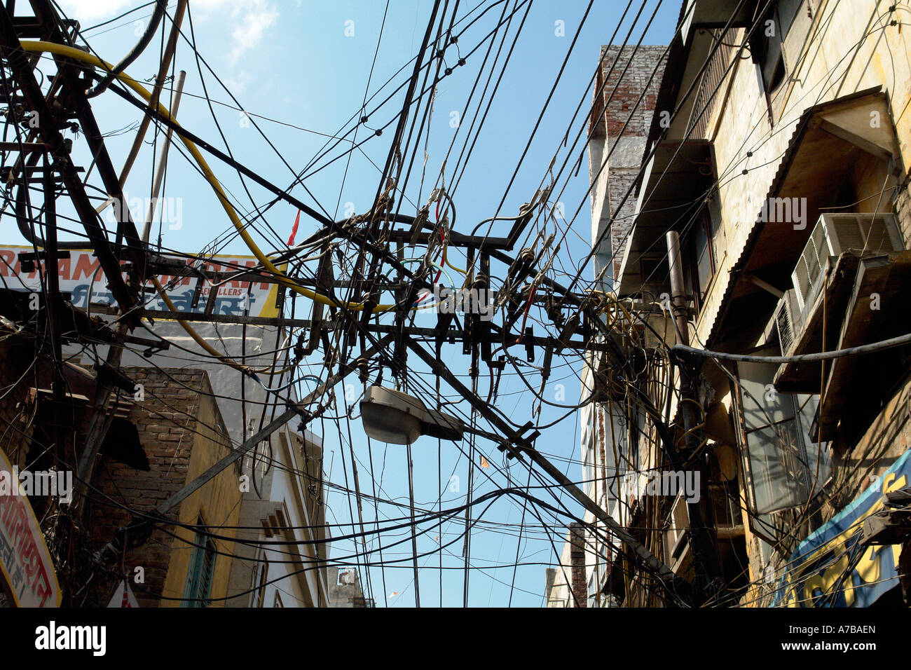 Old Electrical Wiring Stock Photos & Old Electrical Wiring Stock ...
