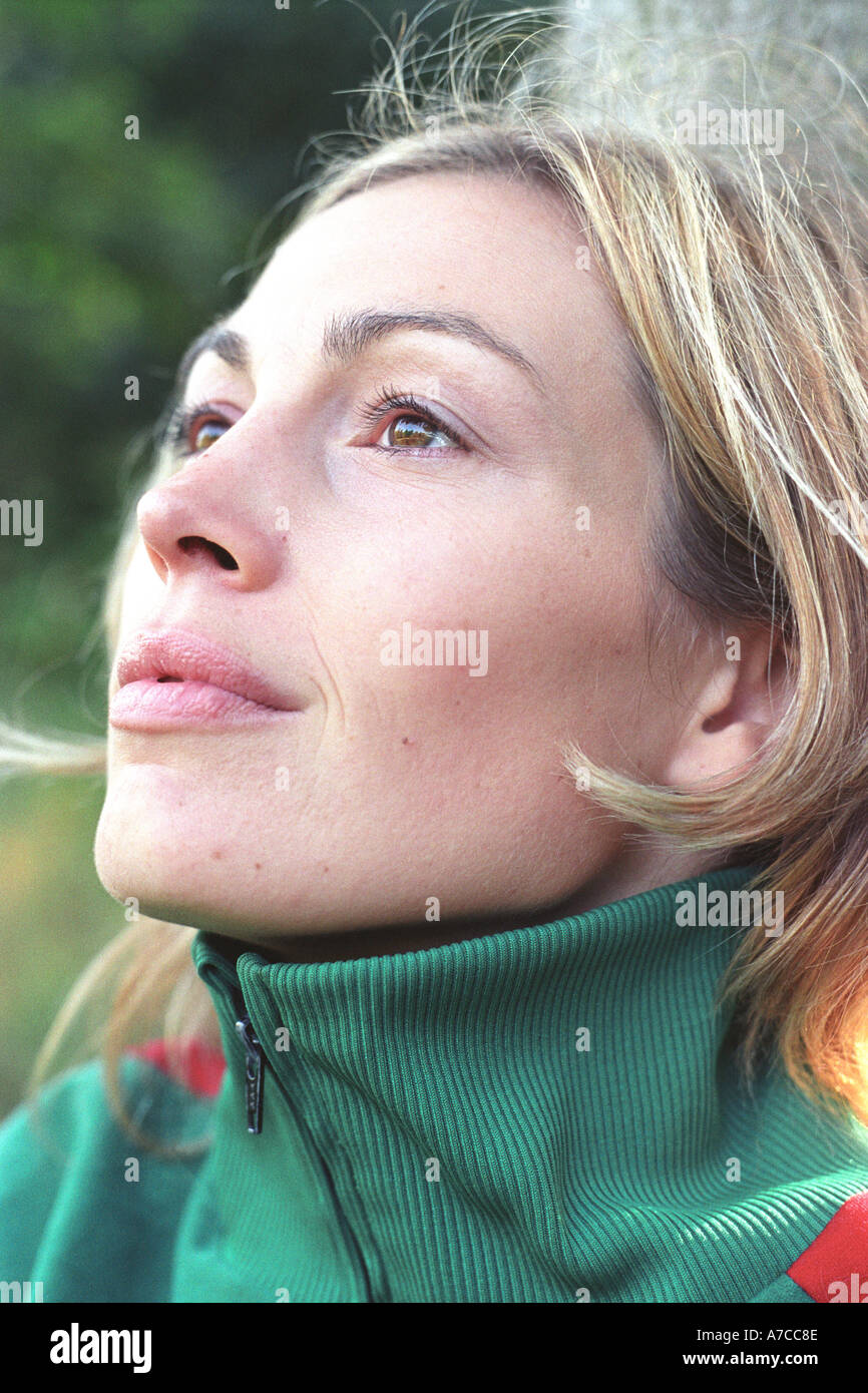 Portrait of a woman - Stock Image