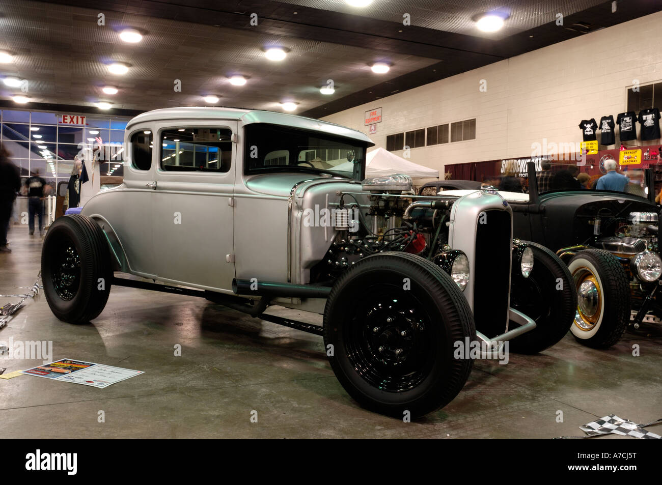 1930 Ford Coupe traditional hot rod at the 2007 Detroit Autorama ...