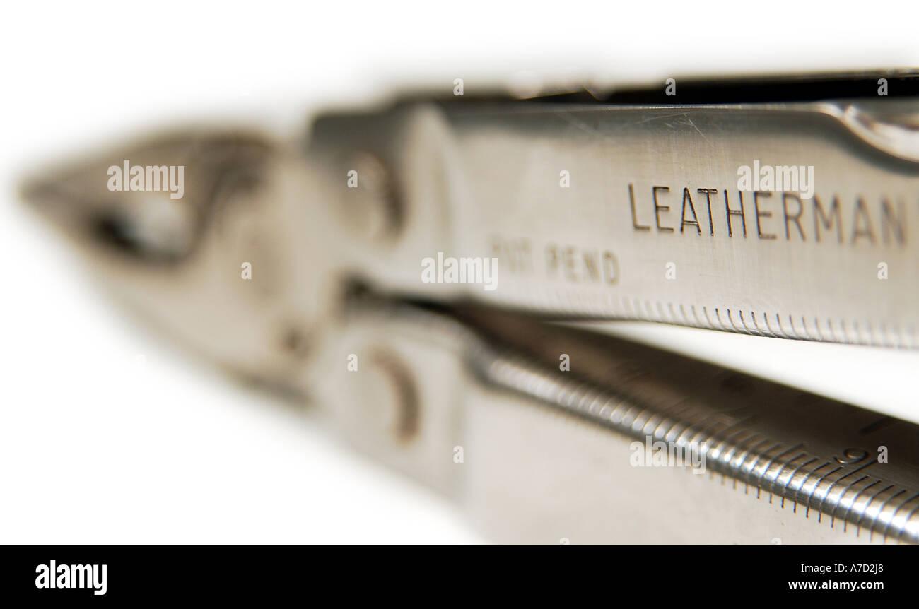 Leatherman multi functional tool - Stock Image
