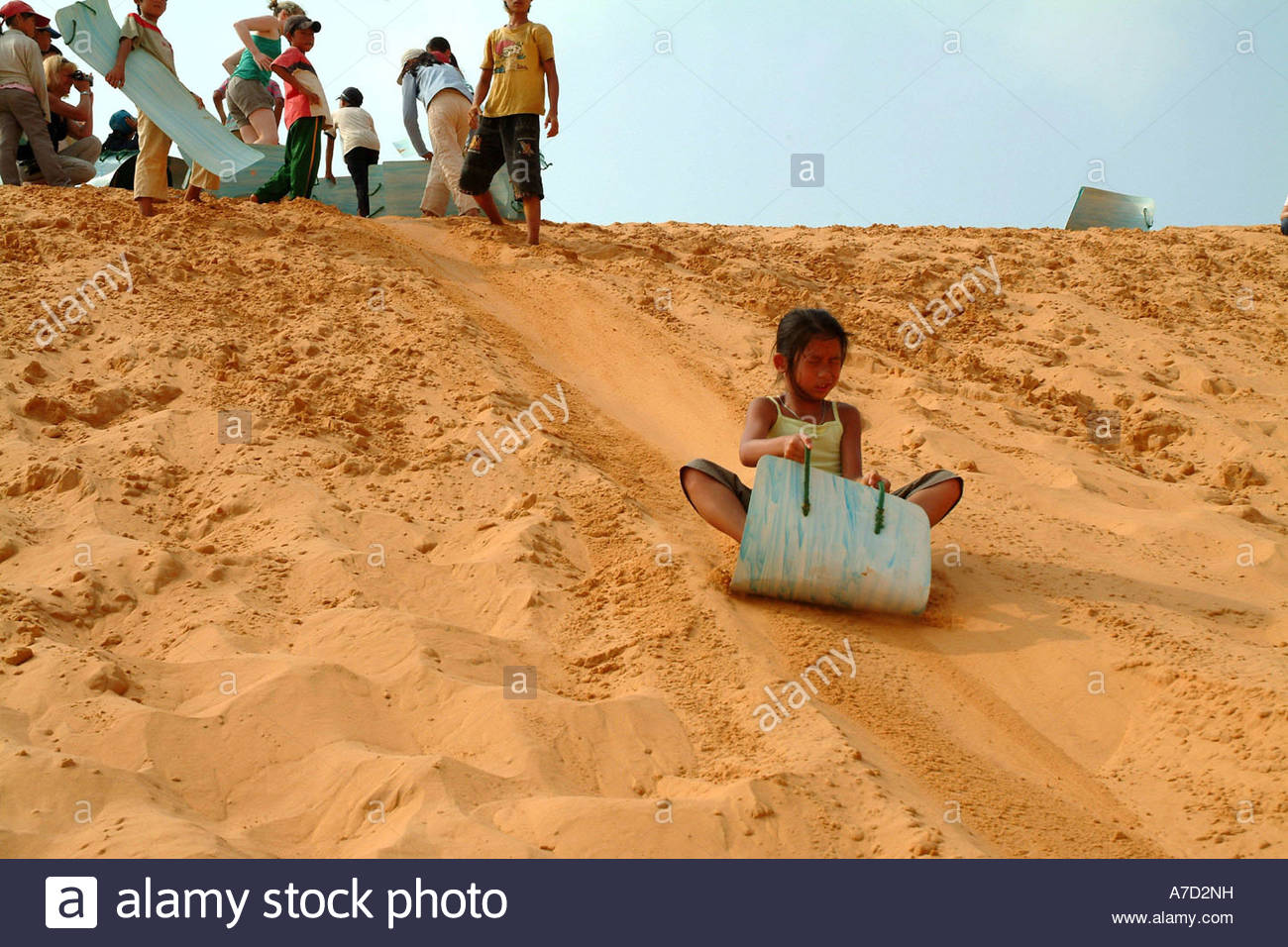 Sand Surfing Stock Photos Sand Surfing Stock Images Alamy