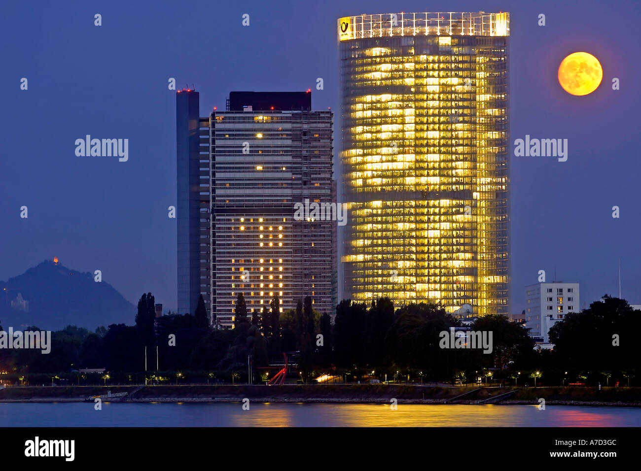 4099 Post Tower, GERMANY NORTH RHINE WESTPHALIA - Stock Image