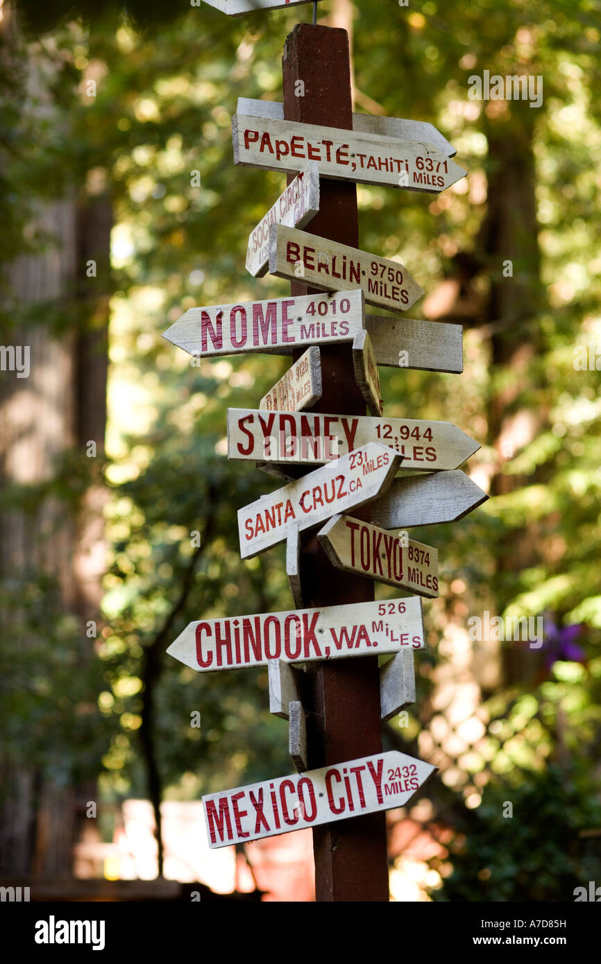 1000 Places To See Before You Die Signpost Pointing Papeete Berlin Nome Sydney Santa