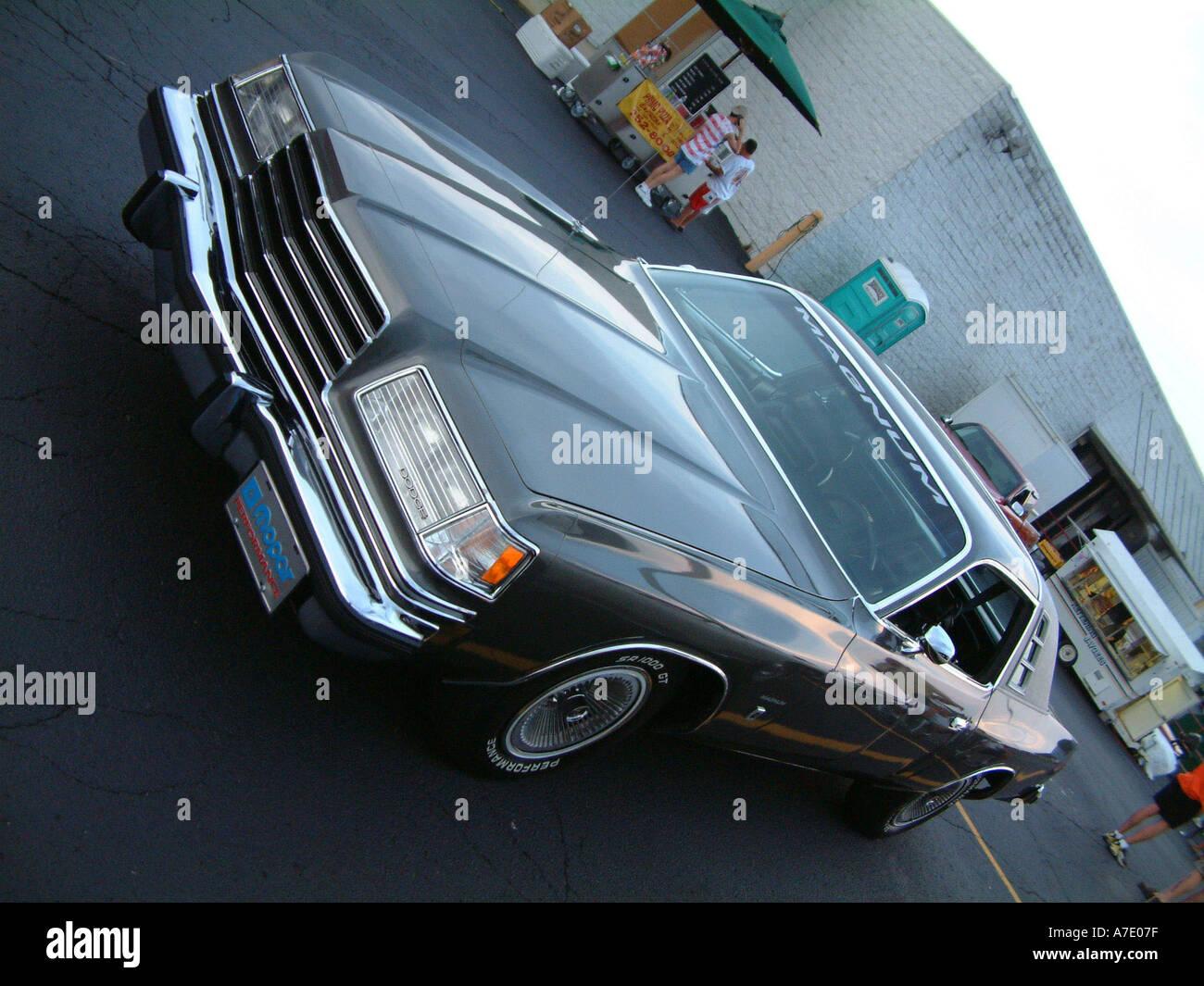 1978 Dodge Magnum XE Mopar Performance OC055Q Stock Photo
