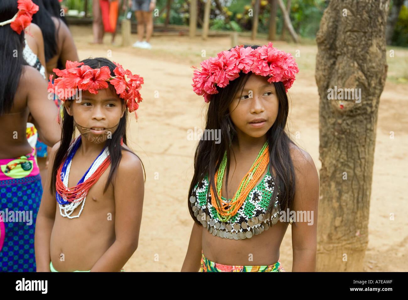 Embera Drua Village Stock Photo: 6750750 - Alamy