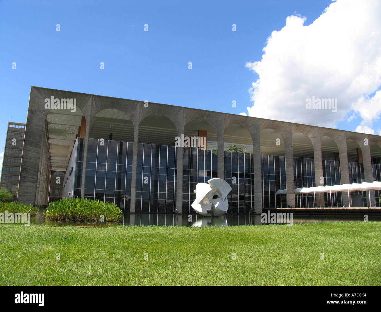 Brazilian Ministry of Foreign Affairs - Itamaraty - Brasilia-BR Stock Photo