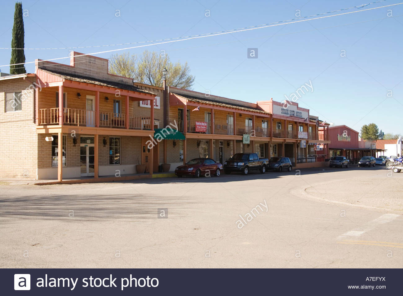 info for cafb4 7ef2c Main Street Business District in Patagonia Arizona Stock ...