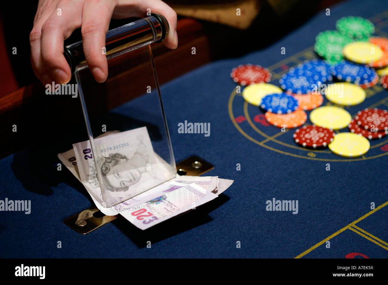 Casino Gambling Easy Money Betting Stock Photo Alamy