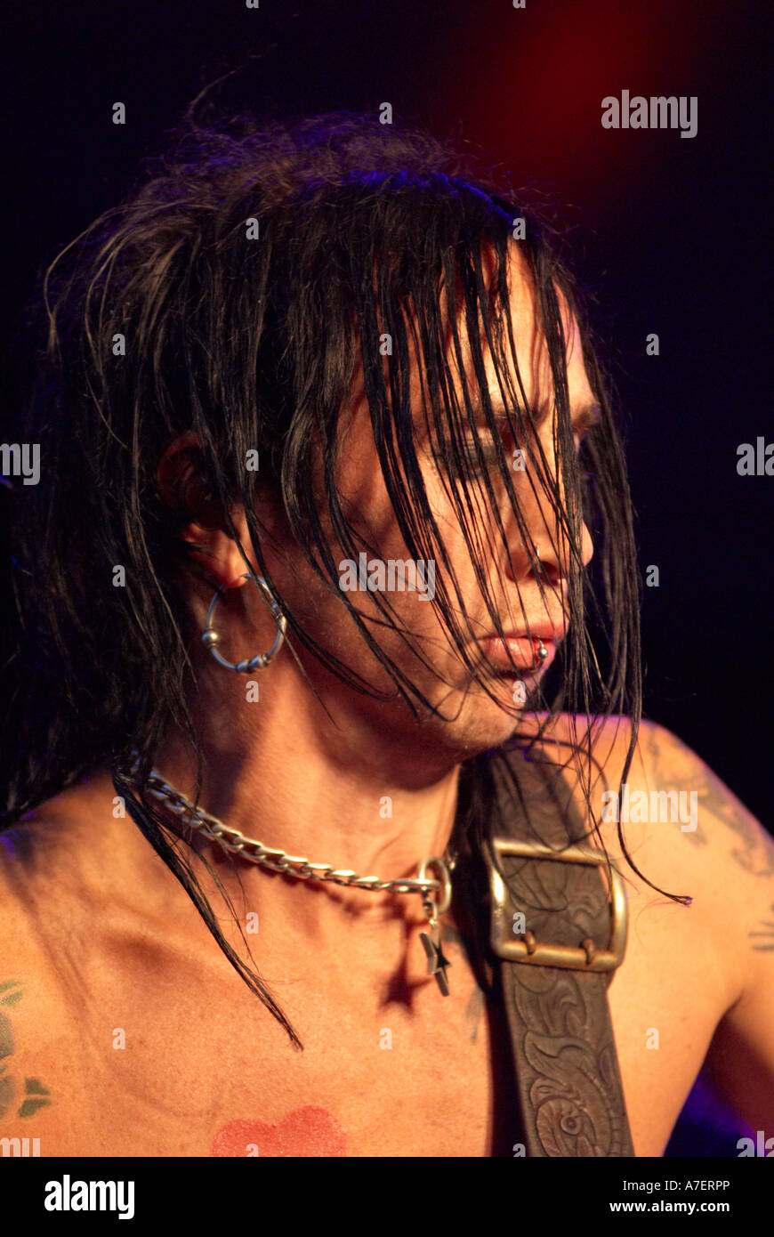 Dregen Backyard Babies dregen in backyard babies 2006 stock photo: 11818173 - alamy