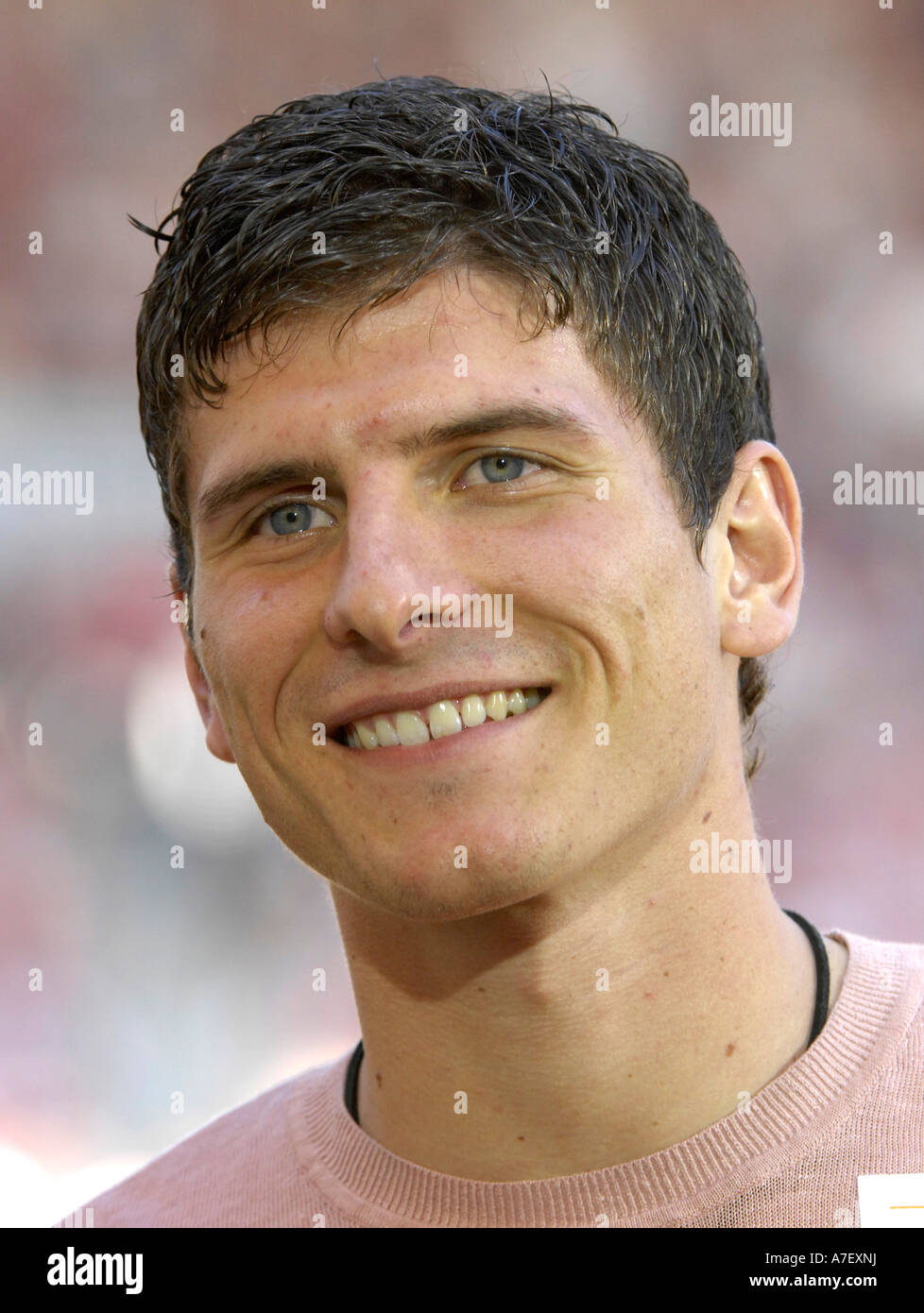 German national team player Mario GOMEZ - Stock Image