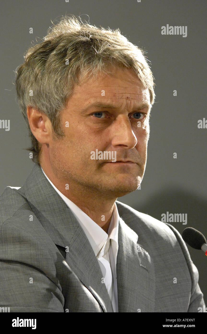 Coach Armin VEH - Stock Image