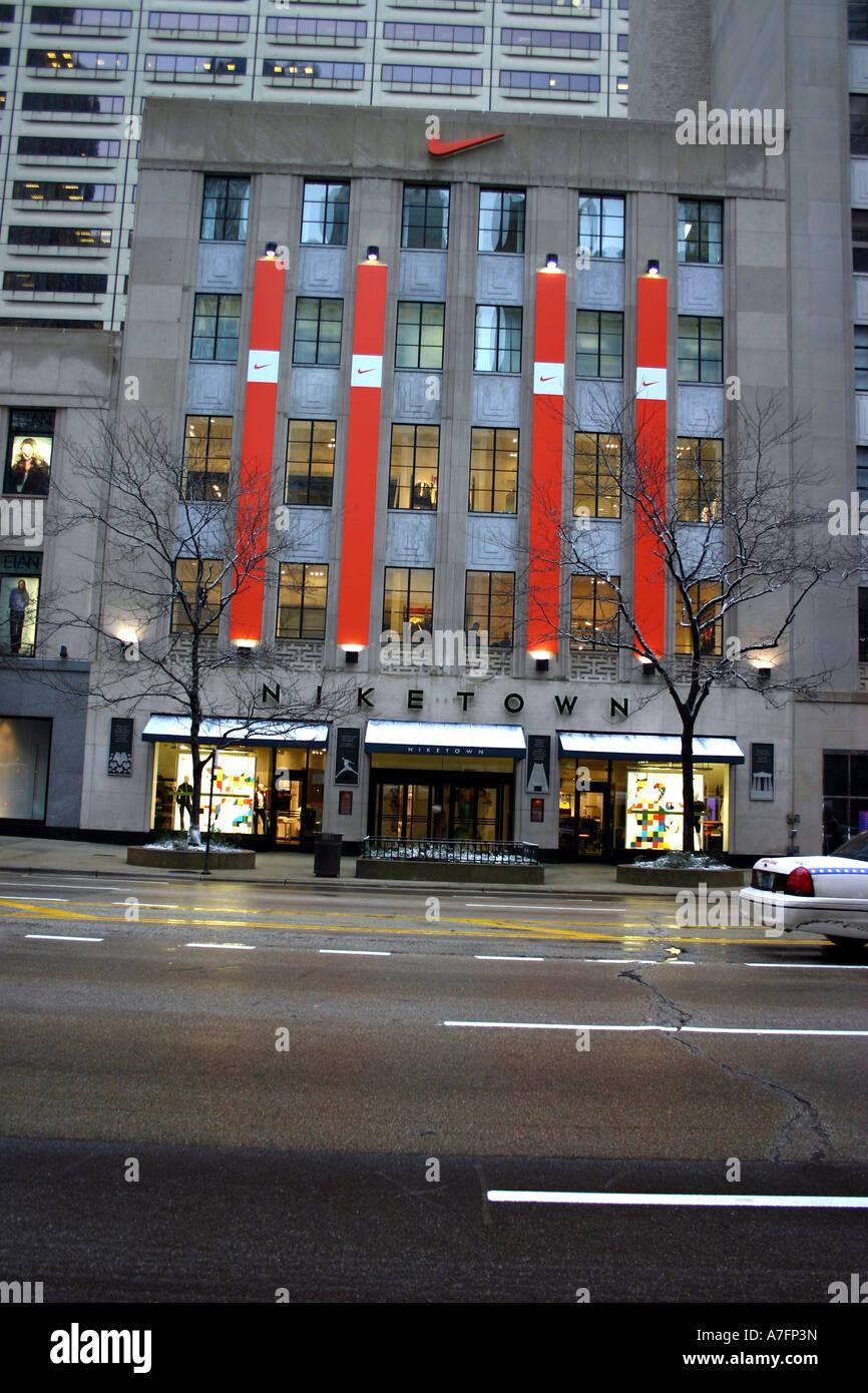 Nike Store Michigan Avenue Chicago
