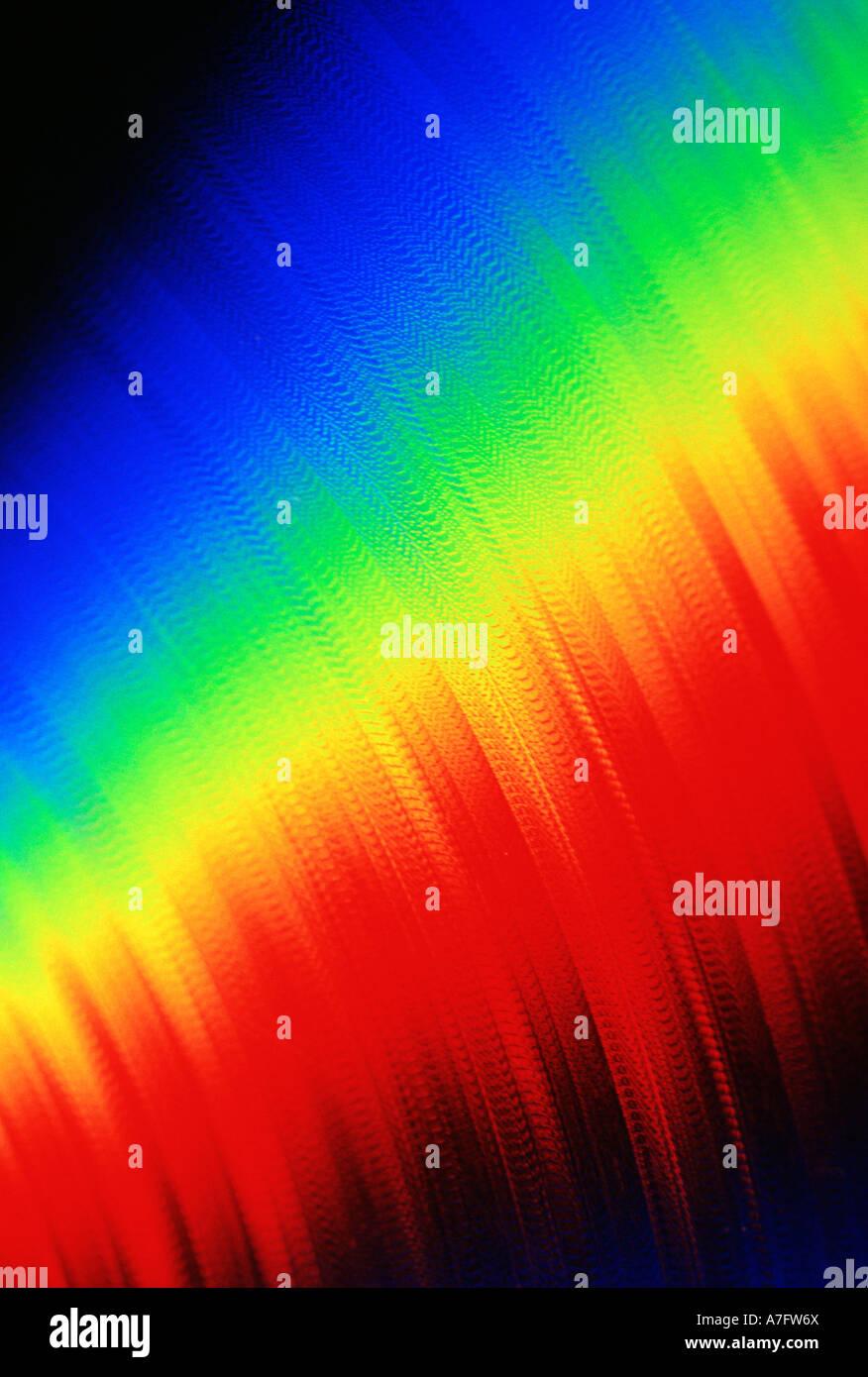 spectrum vertical - Stock Image