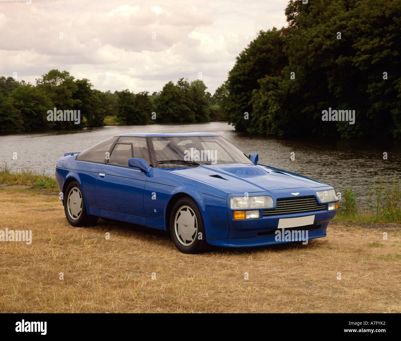 1986 Aston Martin Vantage Zagato V8 Stock Photo Alamy